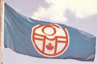 [1967 Pan American Games Organizing Committee flag]